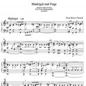 Madrigal u. Fuge 1