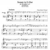 Sonate G-Blfl+Org 1